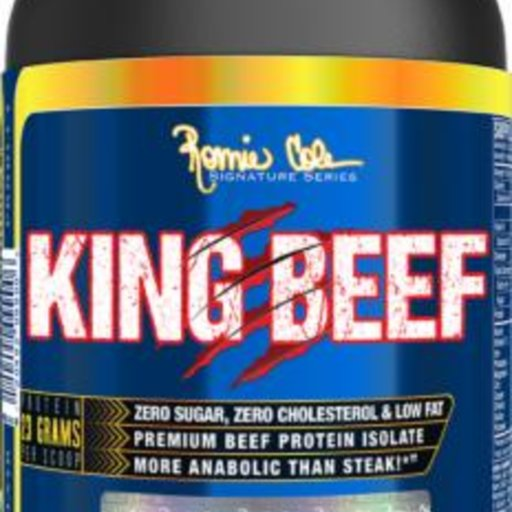 Ronnie Coleman - King Beef 100% Pure Beef Isolate / 1000 gr.