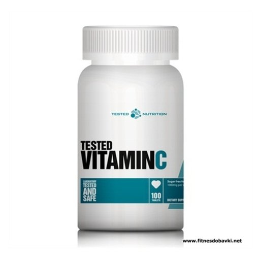 Tested Nutrition - Vitamin C / 100caps x 1000mg.​