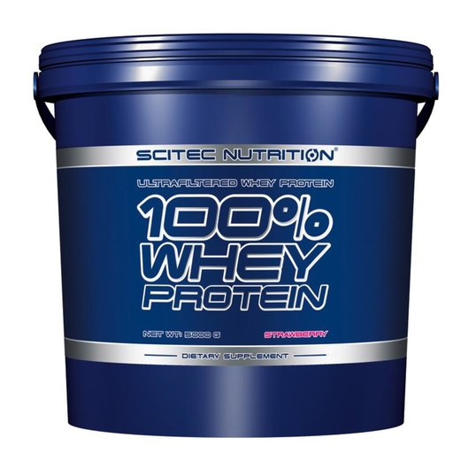 Scitec - 100% Whey Protein / 5000 gr.