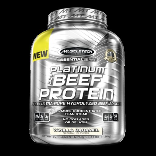 MuscleTech - Platinum Beef Protein / 4lbs​