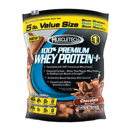 MuscleTech - 100% Premium Whey Protein+ / 5 lbs.​