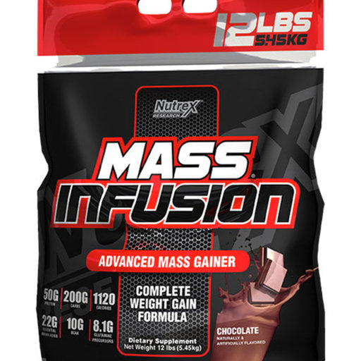 Nutrex - Mass Infusion гейнър / 5450 гр.​