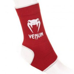 Наглезенки - VENUM KONTACT ANKLE SUPPORT GUARD - MUAY THAI / KICK BOXING / червени​