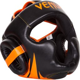 Протектор за глава /каска/ -  VENUM CHALLENGER 2.0 HEADGEAR  NEO ORANGE / Black​