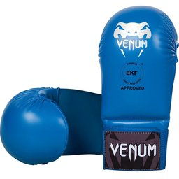 Ръкавици за Карате без пръсти - VENUM KARATE MITTS - WITHOUT THUMB PROTECTION - EKF APPROVED / BLUE​