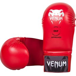 Ръкавици за Карате без пръсти - VENUM KARATE MITTS - WITHOUT THUMB PROTECTION - EKF APPROVED / RED​