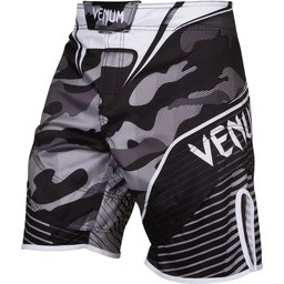 ШОРТИ - VENUM CAMO HERO FIGHTSHORTS / WHITE/BLACK​