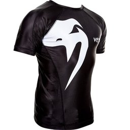 "РАШГАРД - VENUM ""GIANT"" RASHGUARD - SHORT SLEEVES / BLACK​"