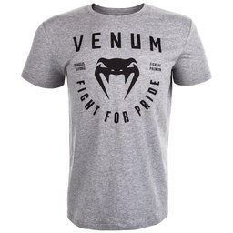 Тениска - VENUM FIGHT FOR PRIDE T-SHIRT - HEATHER GREY​