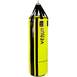 Боксов Чувал - VENUM HURRICANE PUNCHING BAG - 130 CM FILLED / BLACK - YELLOW​