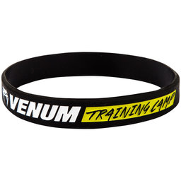 Силиконова Гривна - VENUM RUBBER BAND - TRAINING CAMP - BLACK​