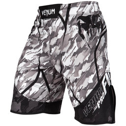 Шорти - Venum Tecmo Fightshorts - Black/Grey​