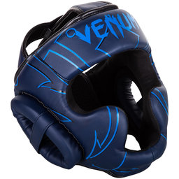 ПРОТЕКТОР ЗА ГЛАВА / КАСКА - Venum Nightcrawler Headgear-Navy blue​