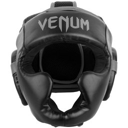 Протектор за глава / Каска / - VENUM CHALLENGER 2.0 HEADGEAR - BLACK / GREY​