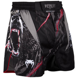 Шорти - Venum Grizzli Fightshorts - Black/White​