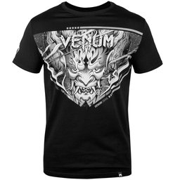 Тениска - Venum Devil T-shirt - White/Black​