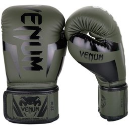 Боксови ръкавици - Venum Elite Boxing Gloves - Khaki/Black​