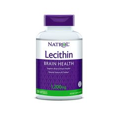 Natrol - Soya Lecithin 1200mg. / 120 caps
