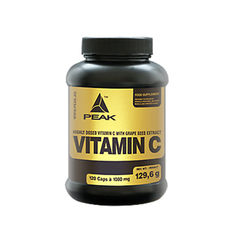 Peak - Vitamin C 1080mg. / 120 Caps.