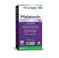 Natrol - Advanced Sleep Melatonin 10mg. / 60 tabs.
