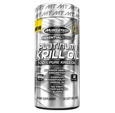 MuscleTech - Platinum Pure Krill Oil / 30 softgels.