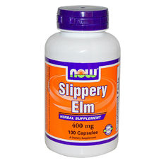 NOW - Slippery Elm 400mg (Хлъзгав Бряст) - 100caps.