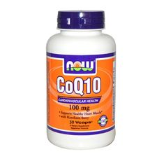 NOW - CoQ10 100mg. / 30 caps.