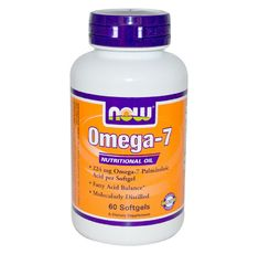 NOW - Omega - 7 - 224 mg - 60 softg.