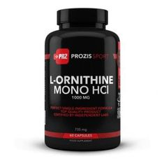 Prozis - L-Ornithine 1000mg / 60 caps.