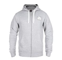 Суичър - BAD BOY CORE HOODIE / GREY​