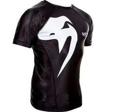 РАШГАРД - VENUM GIANT RASHGUARD - SHORT SLEEVES / BLACK