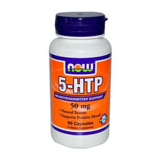 NOW - 5-HTP 100mg. / 60 Vcaps.