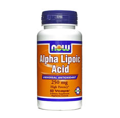 NOW - Alpha Lipoic Acid 250mg / 60 caps.
