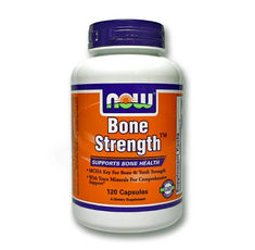 NOW - Bone Strength / 120 Caps.