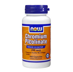 NOW - Chromium Picolinate 200mcg. / 100 caps.