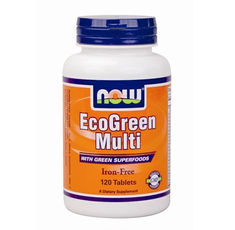 NOW - Eco-Green Multi / 120 Tabs.