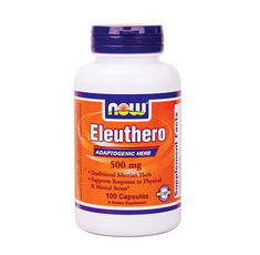 NOW - Eleuthero 500 mg. / 100 Caps.