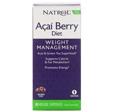 Natrol - Acai Berry Diet 500 mg. / 60 caps