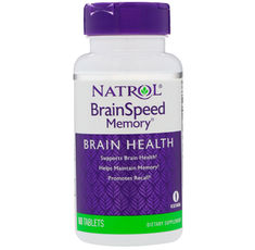 Natrol - BrainSpeed Memory / 60 tab