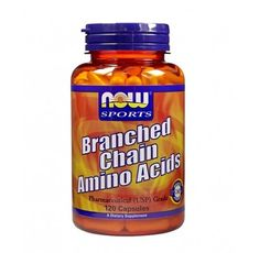 NOW - Branched Chain Amino Acids / 120 caps.