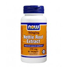 NOW - Nettle Root Extract 250mg. / 90 Caps.