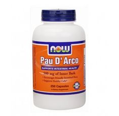NOW - Pau D' Arco 500mg. / 250 Caps.