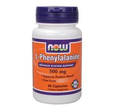 NOW - L-Phenylalanine 500mg. / 60 Caps.