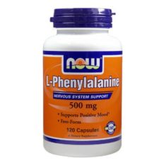 NOW - L-Phenylalanine 500mg. / 120 Caps.