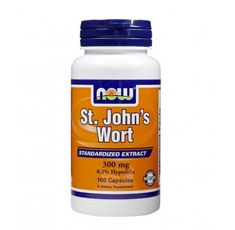 NOW - St. John's Wort 300mg. / 100 Caps.