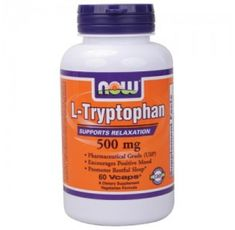NOW - Tryptophan 500mg. / 60 Caps.