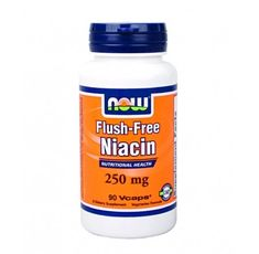 NOW - Flush-Free Niacin 250mg. / 90 VCaps.