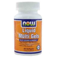 NOW - Liquid Multi Gels / 60 Softgels