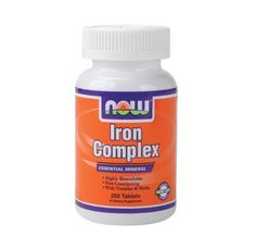 NOW - Iron Complex / 100 Tabs.