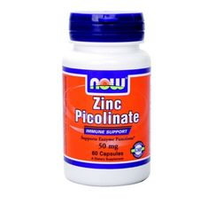 NOW - Zinc Picolinate 50mg. / 60 Caps.
